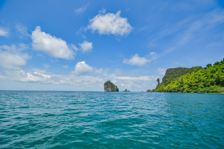 Krabi, Thailand, July 25, 2016 Chicken Island in the Andaman Sea. Stock Photo