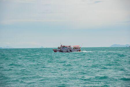 Samui, Thailand, in September 2016 the ship traveled to Koh Samui, Thailand. Stock Photo