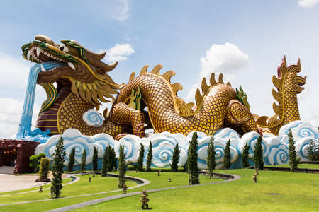 flying dragon: Flying Dragon mascot of the Chinese people.
