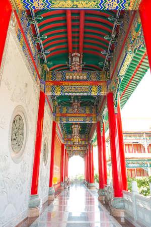 corridors: China built the palace corridors so as to honor the Hong Tae Sun CREAM rain shield.