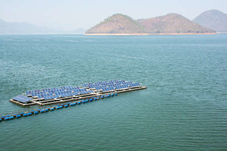 enormously: Advanced manufacturing technology they work with electricity. Solar compatible with nature. Stock Photo