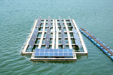 enormously: Electricity with solar power station.