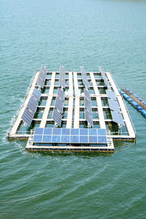 enormously: Solar Power Station by the current side.