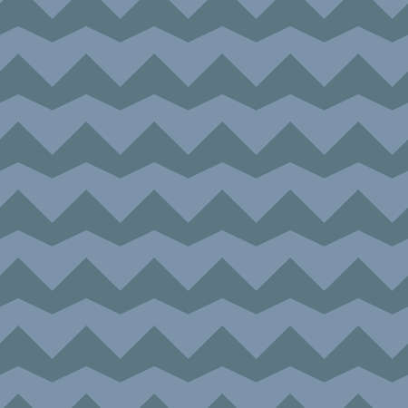 blue tone: blue tone zigzag triangle seamless pattern Illustration