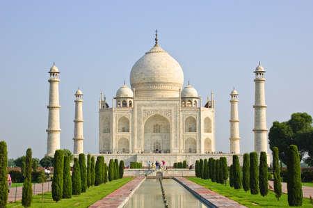 Taj Mahal, Indien Standard-Bild - 10892962