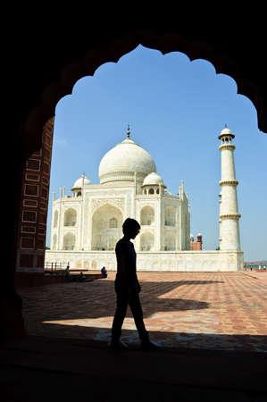 love dome: Taj Mahal, India Stock Photo