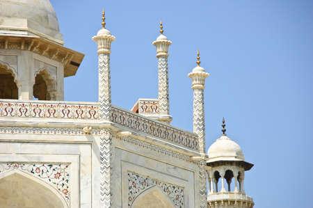 love dome: White Marble Taj Mahal, India