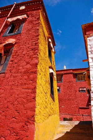 lamaism: Ganden Monastery, Tibet