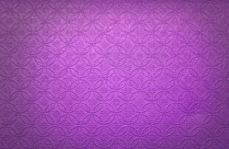 embossed: Purple embossed paper Stock Photo