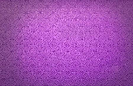 Purple embossed paper Stock Photo
