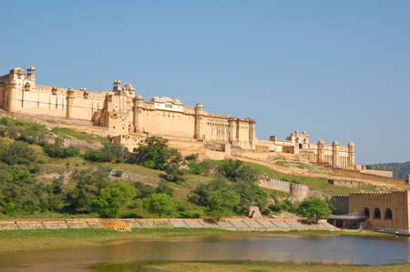 amber fort: Amber fort in Jaipur, India