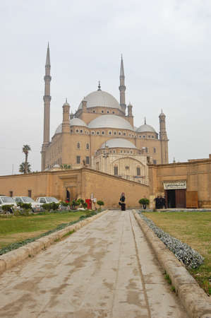Mohamed Ali mosque in Saladin citadel, Egypt photo