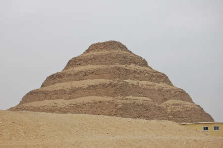 Step pyramid in Saqqara, Egypt photo