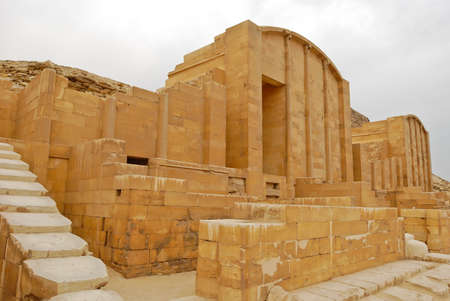 djoser: Saqqara, Egypt Stock Photo