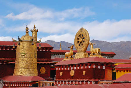 Jokhang temple, Tibet photo