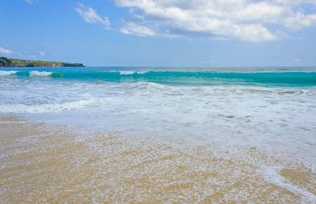 dreamland: Beach and wave, Dreamland beach in Bali, Indonesia