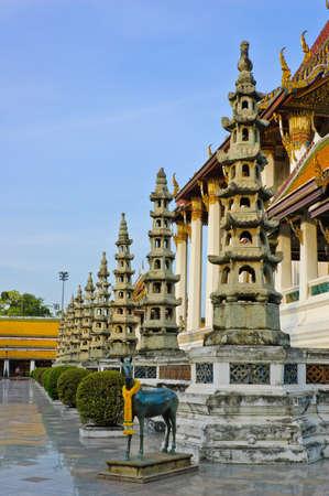Wat Suthan in Bangkok, Thailand Stock Photo - 12578051