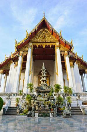 Wat Suthan in Bangkok, Thailand Stock Photo - 12578056