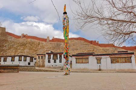 Pelkor Chode temple in Gyantse, Tibet