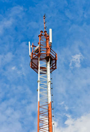 Cell site tower photo