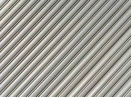 Pattern of corrugate metal sheet photo