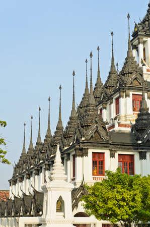 achitectural: Loha Prasat, Thai Buddhist achitectural masterpiece, Thailand
