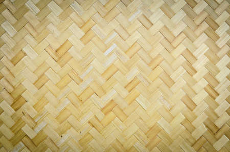 Bamboo weave pattern Stock Photo - 17205031