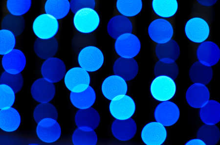 Abstract background of blue bokeh Stock Photo - 18240221