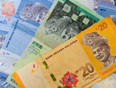 Malaysia bank notes photo