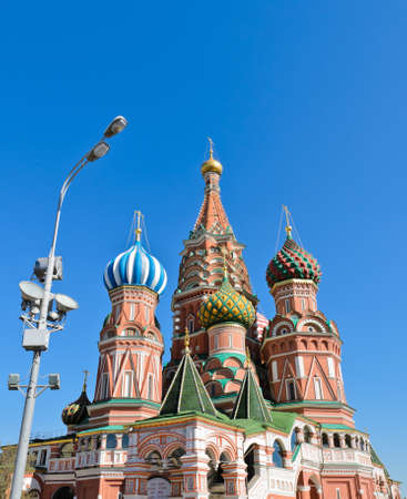 St  Basil s Cathedral or Pokrovsky Cathedral  in Moscow, Russia Stock Photo - 19733038