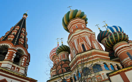 st basil s cathedral: St  Basil s Cathedral in Moscow, Russia