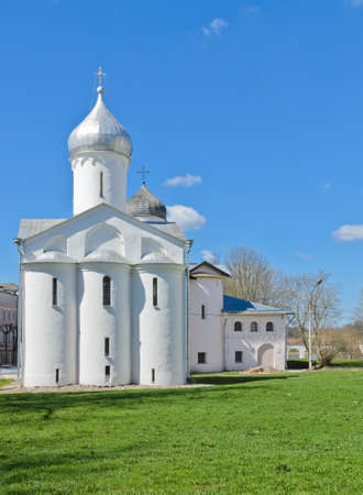 novgorod: Orthodox church at Yaroslav s Court in Veliky Novgorod, Russia