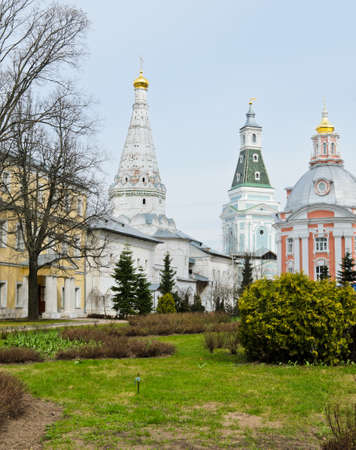 lavra: Trinity Lavra of St  Sergius monastery in Sergiev Posad, Russia Stock Photo
