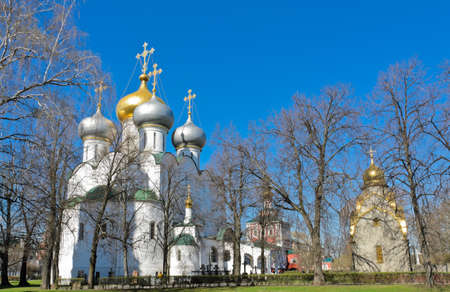 convent: Novodevichy Convent in Moscow, Russia