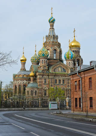 Church of the Savior on Spilled Blood in St Petersburg, Russia photo