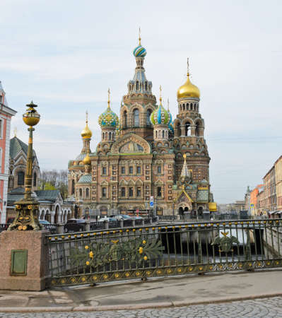 russian church: Cathedral of the Resurrection of Christ or Church of the Savior on Spilled Blood, Russia