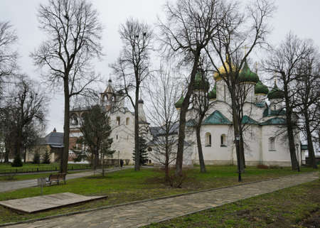 Transfiguration cathedral in Monastery of Saint Euthymius in Suzdal, Russia photo