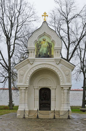 Dmitry Pozharsky s tomb in Monastery of Saint Euthymius in Suzdal, Russia