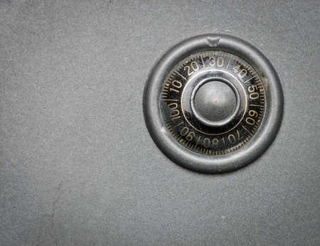 Safe lock for storage of valuable possessions Standard-Bild
