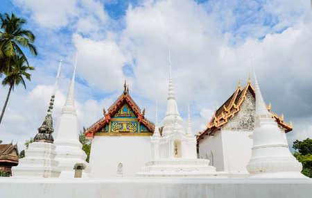 Ancient Thai temple of Wat Uposatharam in Uthai Thani, Thailand  photo
