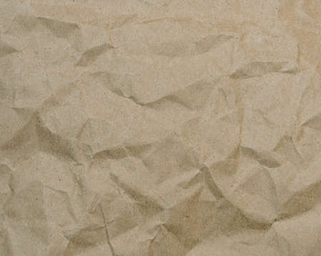 boxboard: Brown crumpled paper texture background
