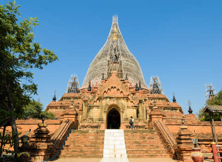 Dhammayazika Pagoda in Bagan, Myanmar photo