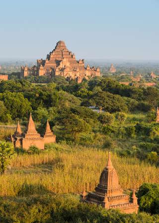 Ancient city of Bagan, Myanmar photo