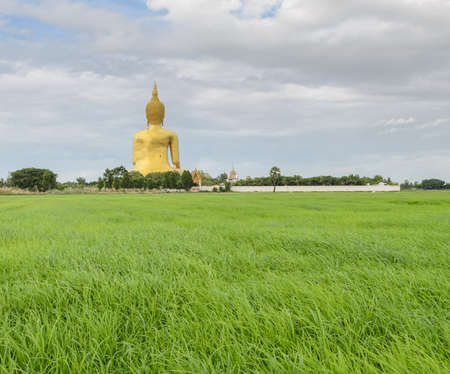 Great Buddha of Thailand, the tallest statue in Thailand photo