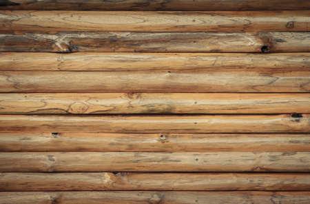 Brown wood log Wand Textur Hintergrund Standard-Bild - 33944556