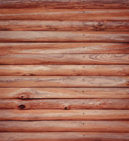 log wall: Brown wood log wall texture background Stock Photo