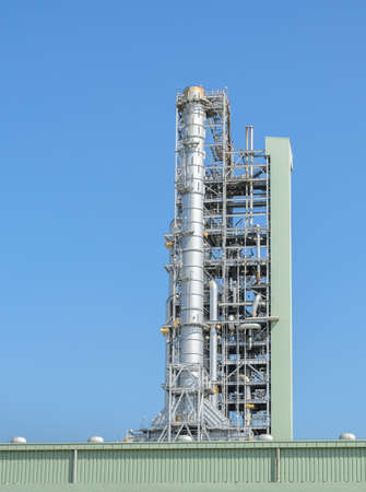 petrochemical: Petrochemical industrial plant in Thailand Stock Photo