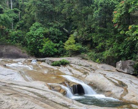 phrom: Phrom Lok Waterfall Evergreen forest waterfall in Nakhon Si Thammarat Thailand