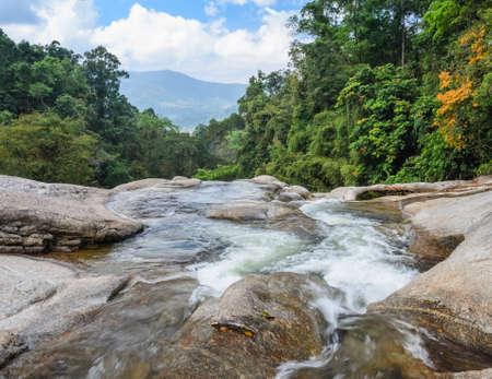 nakhon: Karome waterfall, Evergreen forest waterfall in Nakhon Si Thammarat, Thailand