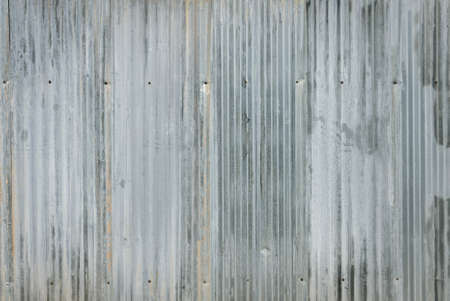 galvanize: Corrugated galvanize steel wall texture background